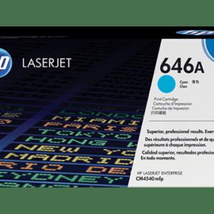 TONER HP CF031A, Color: Cian, Compatibilidad: HP COLOR LASERJET CM4540, Rendimiento: 12500 páginas.