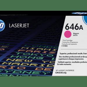 TONER HP CF033A, Color: Magenta, Compatibilidad: HP COLOR LASERJET CM4540, Rendimiento: 12500 páginas
