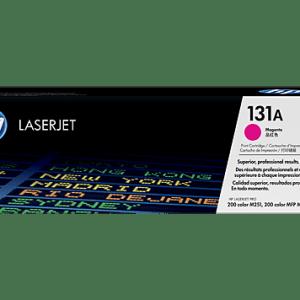 TTONER HP 131A MAGENTA, Color: Magenta, Compatibilidad: HP LASERJET M251/M276, Rendimiento: 1800 páginas