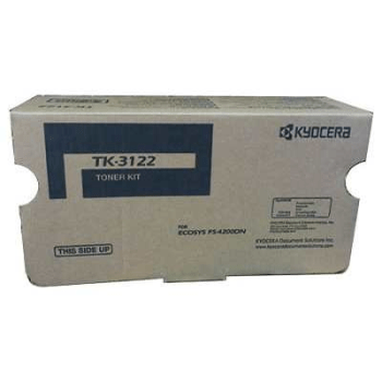 TONER KYOCERA TK-3122 FS-4200DN 21K Compatibilidad: FS-4200DN and M3550idn, Rendimiento: 21,000 PAGS.