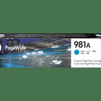 Tinta HP 981A Cyan J3M68A
