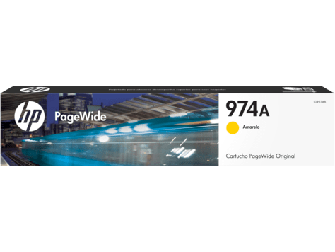 Tinta HP 974 Amarillo L0R93AL