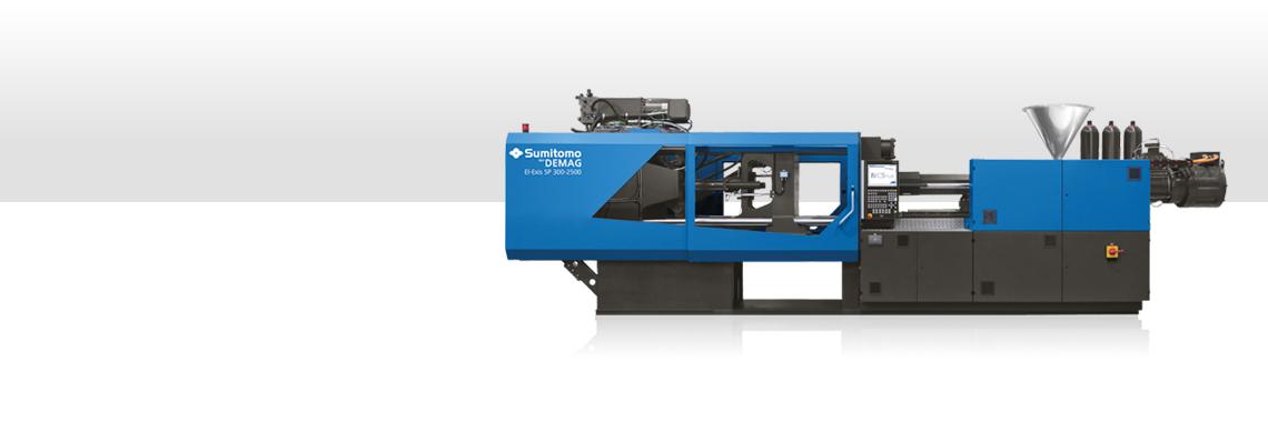 EL-EXIS SP Injection Molding Machines – Sumitomo (SHI) Demag