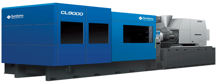 CL9000 electric injection molding machine from Sumitomo Demag
