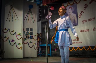 In these events, several competitions , like Recitation, Local dance competitions etc are held.