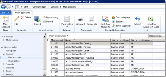 Ledger Accounts and Financial Dimensions (1/5)