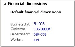 Replace a Financial Dimension in Default Dimensions [AX 2012] (1/2)