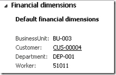 Replace a Financial Dimension in Default Dimensions [AX 2012] (2/2)