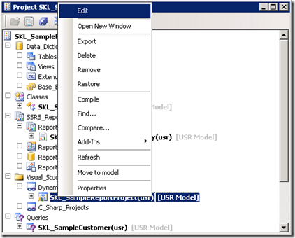 Building a simple report – Using Report Data Provider (1/6)