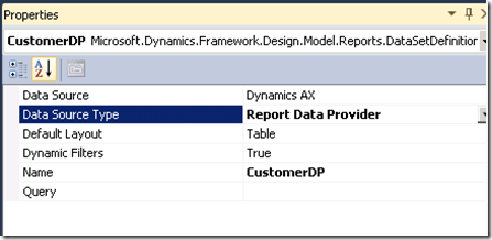 Building a simple report – Using Report Data Provider (2/6)