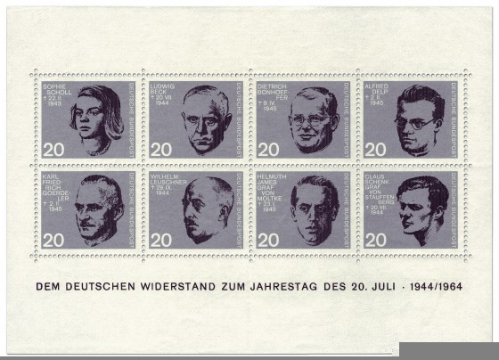 deutscher-widerstand-briefmarkenblock