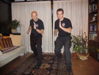 Eric Kruk Harimau H2H Combatives CQC Knife Fighting