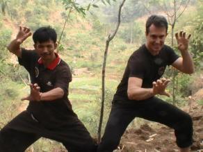 Cecep Arief Rahman e Marco Bellani Panglipur Silat 2