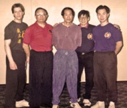 Sifu Daniel Lee Sifu Ted Wong Sifu Alan Joe Sifu Tommy Gong