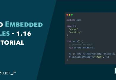 Go 1.16 Embeded Files Tutorial – BETA Feature