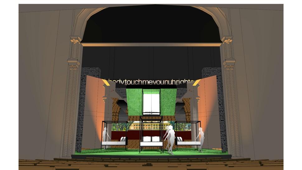 Scene design for <i data-recalc-dims=