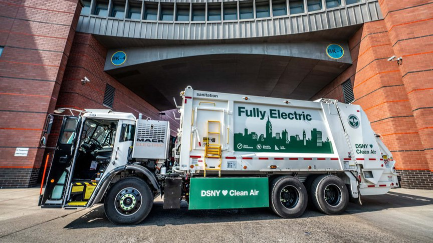 NYC's electric garbage truck
