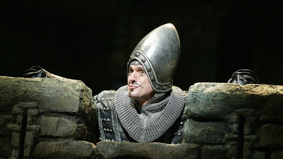 Hank Azaria in Monty Python's Spamalot.