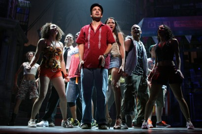Lin-Manuel Miranda and company in In The Heights.