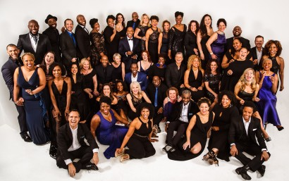 The Broadway Inspirational Voices choir