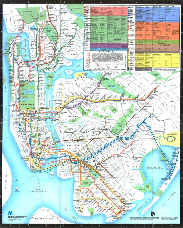 The 1979 Tauranac Map