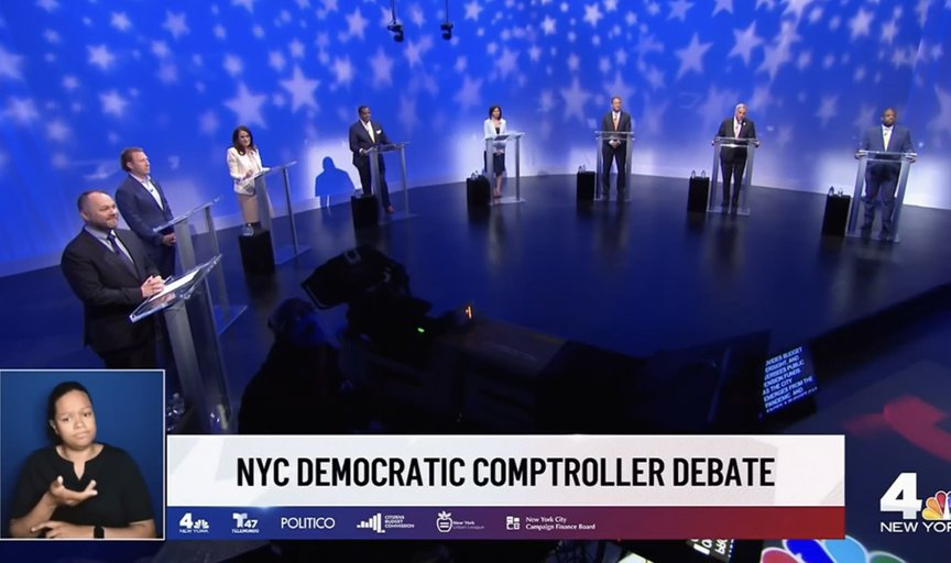 Candidates for controller on a stage