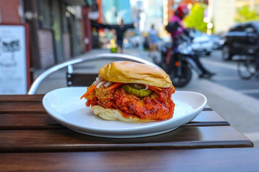 Classic Spicy Chicken Sandwich ($6.99)
