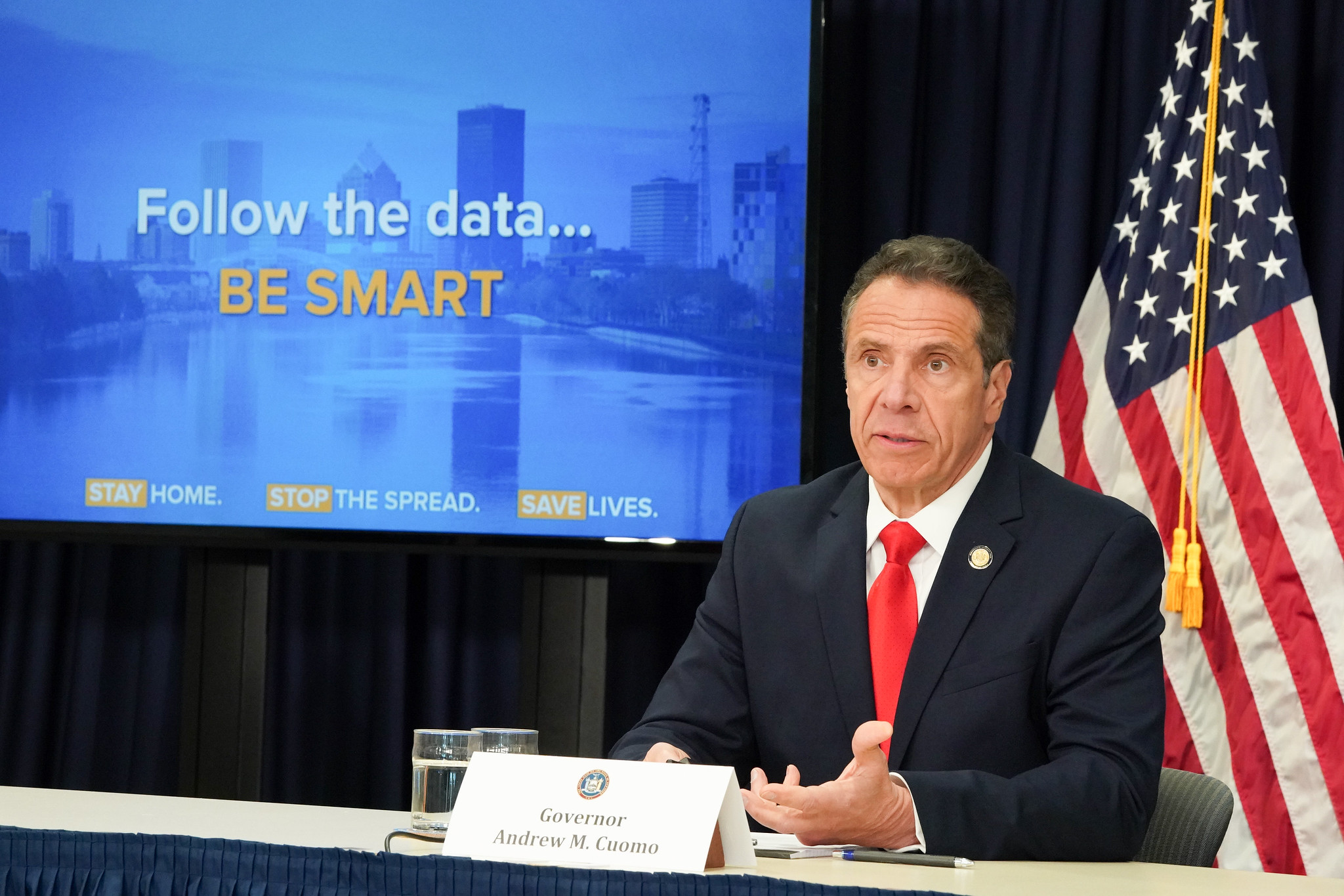 Governor Andrew M. Cuomo delivers briefing on Coronavirus pandemic, May 5th, 2020