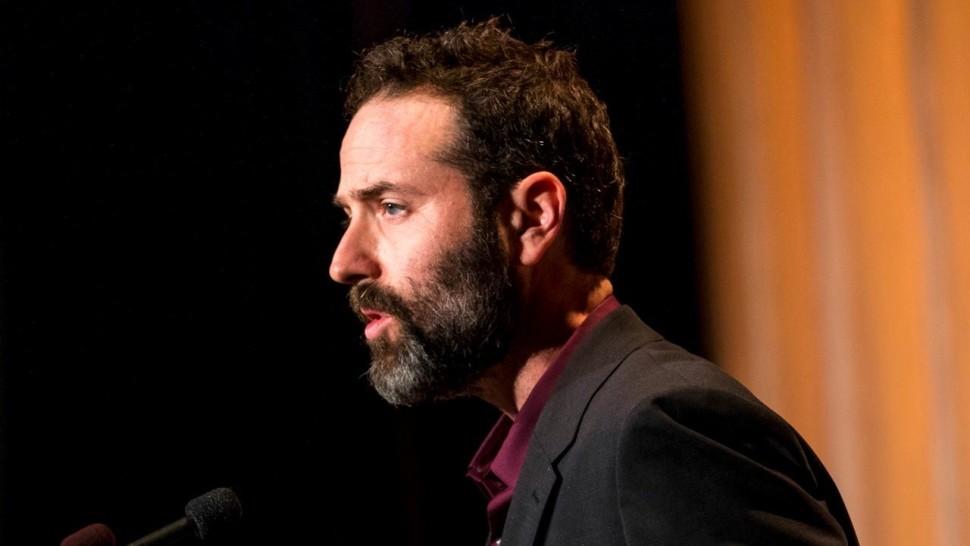 Dan O'Brien at the 2018 PEN Awards