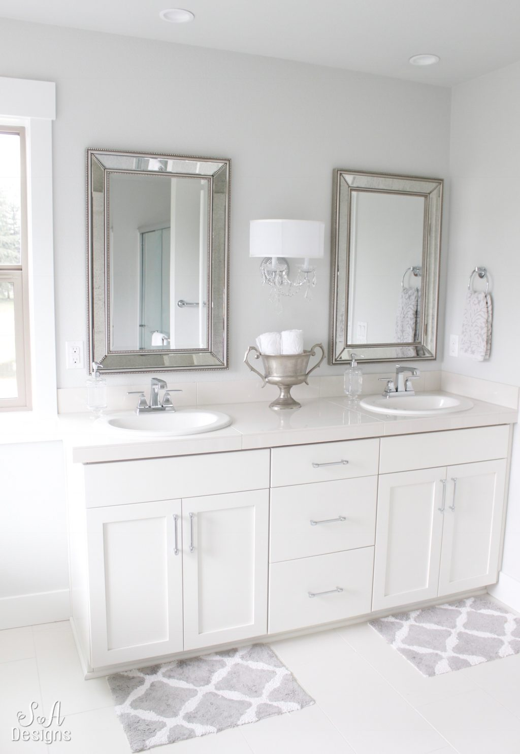 ... We Chose The White Tile For The Floor And A Shinier Version For The  Counter Tops, For Now. We Will Probably Change That Down The Road When I  Know What I ...