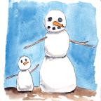 Charlie's Room: Snowmen