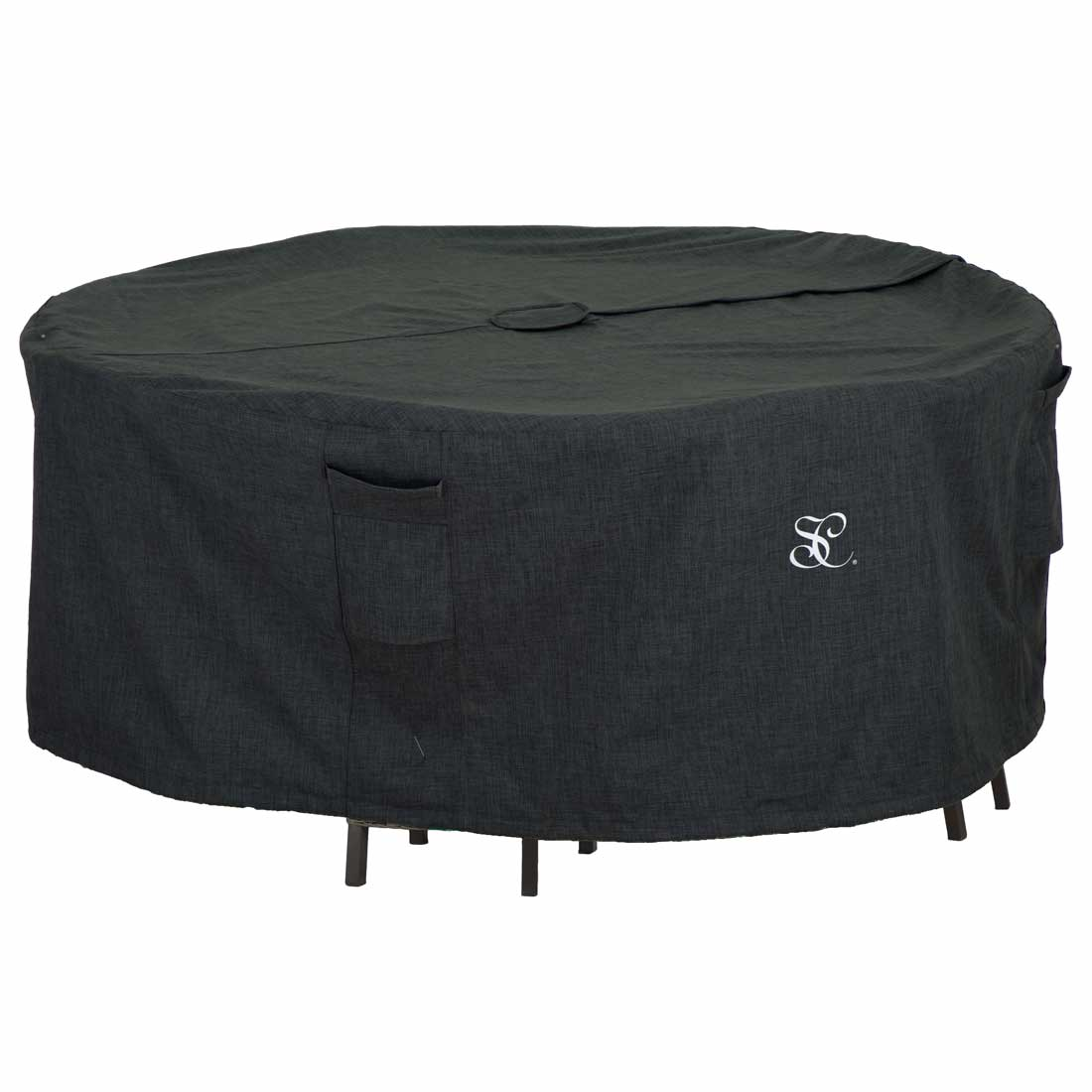 round dining table set cover with