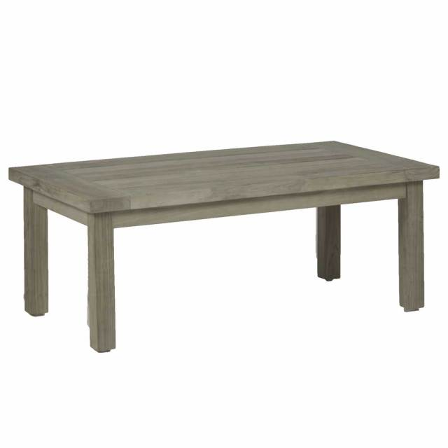 club teak coffee table - outdoor coffee table