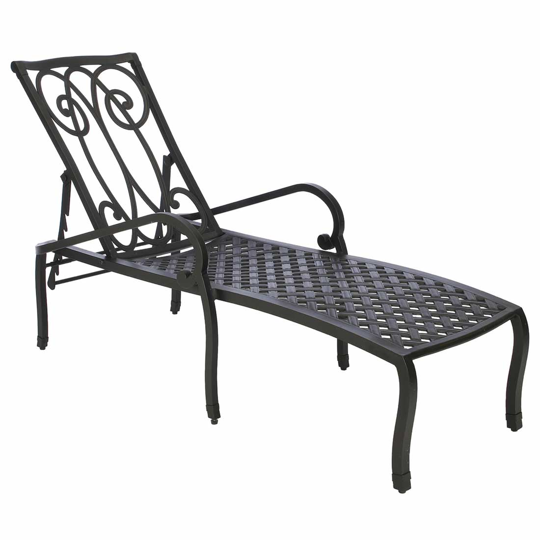 Somerset Cast Aluminum Chaise Lounge