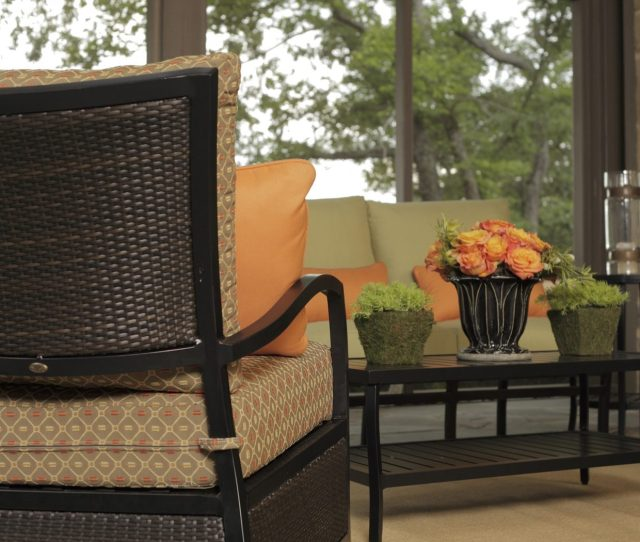 Resin Wicker And Aluminum Outdoor Furniture