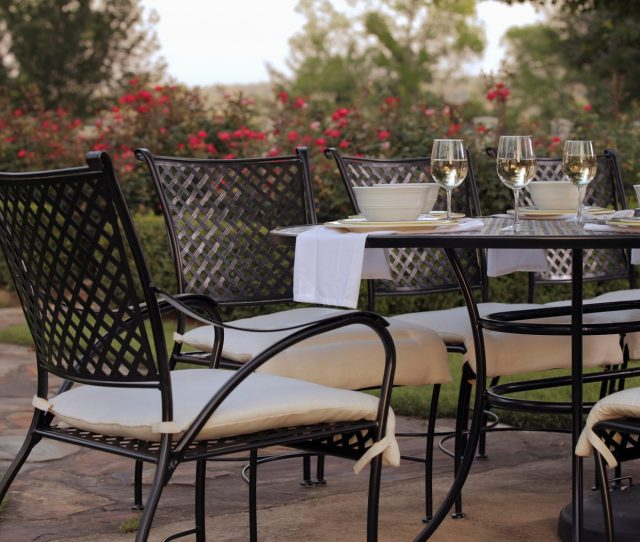 Iron Patio Table And Chairs