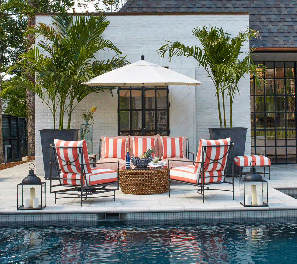 15 Patio Decorating Ideas for Every Outdoor Style - Summer ... on Outdoor Deck Patio Ideas id=99528