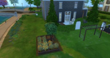 This is Mom's Garden, but I'll have to take care of it soon since Mom is getting old and as Wonder Queen, I must continue the duties of the mother in the household.