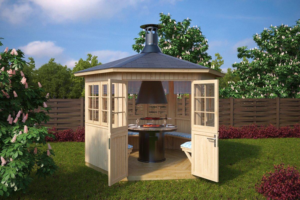 Garden BBQ Hut Festival 6m 21mm 3 X 26 M Summer