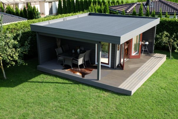 The Hansa Lounge XL Garden Room with Extended Sundeck2 - 10 useful tips about wooden summer houses and sheds before you buy