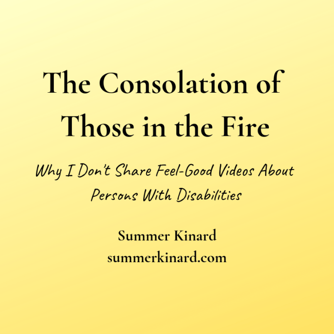 the consolation of those in the fire