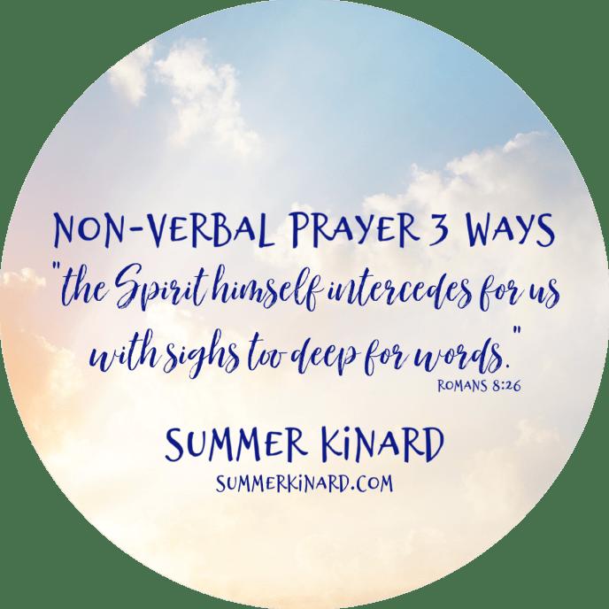 nonverbal 3 ways