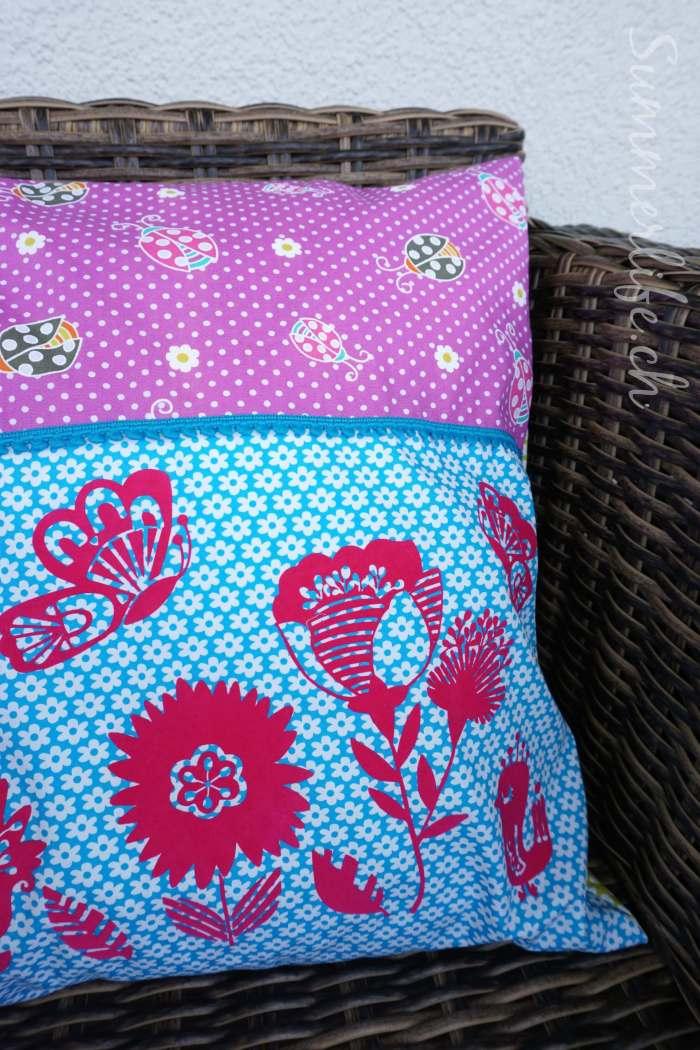 Blumenwiese Kissen