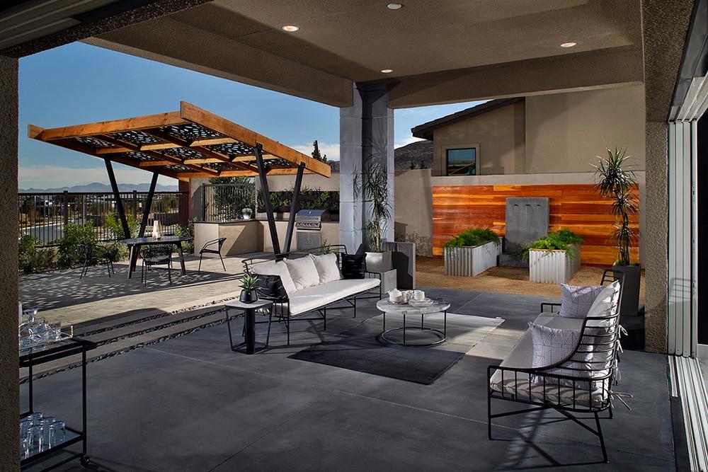 blending indoor and outdoor living