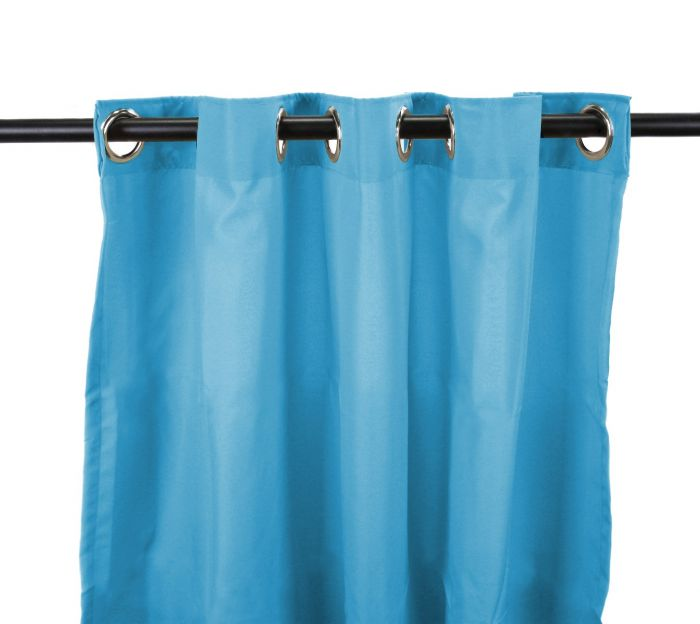 54 x 84 caribbean blue curtain panel