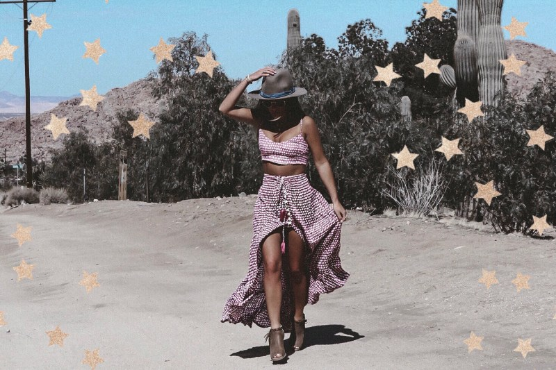 Summer of Diane Boho Style Blogger Coachella