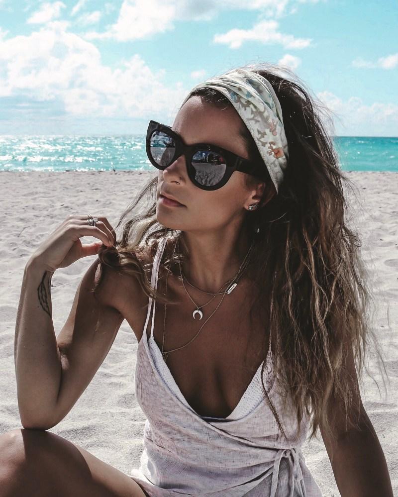 Summer of Diane Style Blogger Salt Spray Beach Hair