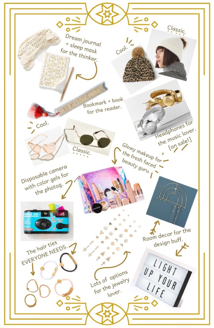 Summer of Diane Holiday Christmas Gift Guides 2018 Teens Teenagers
