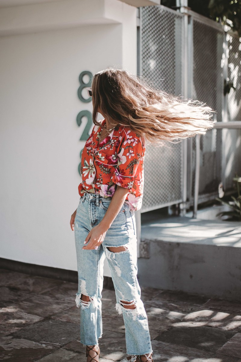 Summer of Diane X Topshop Carpe Denim New Years New Jeans Miami Style Blogger-3