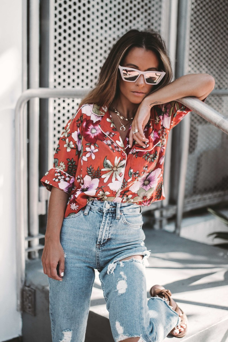 Summer of Diane X Topshop Carpe Denim New Years New Jeans Miami Style Blogger-5